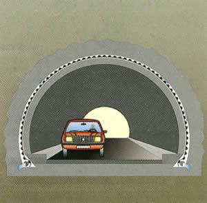 Тефонд НР в строительстве туннелей