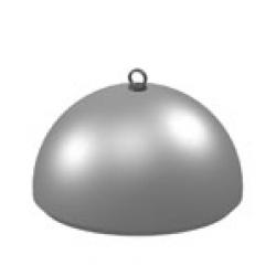 Бетонная полусфера (надолб) Б-10р - рым-болт