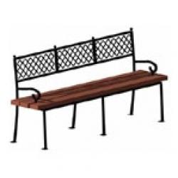 Уличная парковая скамейка (лавочка) СК-22