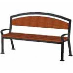 Уличная парковая скамейка (лавочка) СК-25