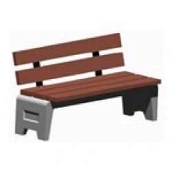 Уличная парковая скамейка (лавочка) СК 6-2