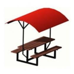 Уличная парковая скамейка (лавочка) СК-9-1