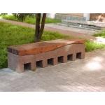 Уличная парковая скамейка (лавочка) СП-2