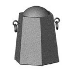 Бетонная тумба ТК-17 (575х500х700 мм) для благоустройства