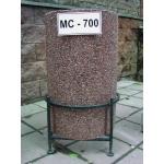Бетонная уличная урна МС-700 (400х650 мм)