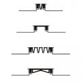 Декоративный деформационный шов ДГК-15