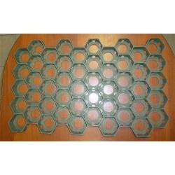 Пластиковая газонная решетка, цвета хаки