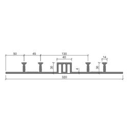 Гидрошпонка Аквастоп ДОМ -320-40-4-30