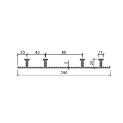 Гидрошпонка Аквастоп ХО-200-4-20 ПВХ