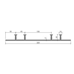 Гидрошпонка Аквастоп ХОМ-320-4-30 ПВХ