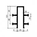 Гидрошпонка резиновая Аквастоп ДЗ-100-25-4-25