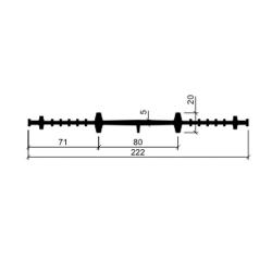 Гидрошпонка резиновая Аквастоп ХВ-220