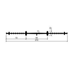 Гидрошпонка резиновая Аквастоп ХВ-270