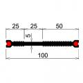 Гидрошпонка резиновая Аквастоп ХВС-100