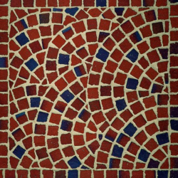 Клинкерная брусчатка Feldhaus Klinker 404 gala multico мозайка