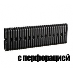 Плоская дренажная труба с перфораций