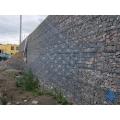 Возведение подпорных стен из габионов