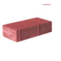 Брусчатка 7п4 тротуарная красная