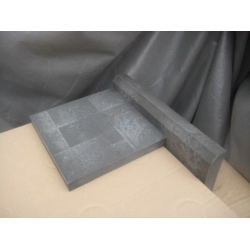 Бортовой камень (бордюр) - серый (1пм. - 2 шт)
