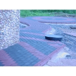Тротуарный камень - Кирпич 1-П-8