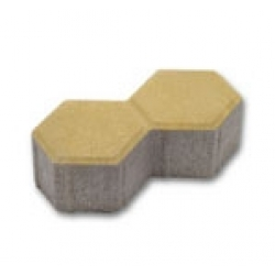 Тротуарный камень - Соты 2-Ф-8