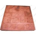 Тротуарная плитка Квадратиш-50 красная (на поддоне 40шт)