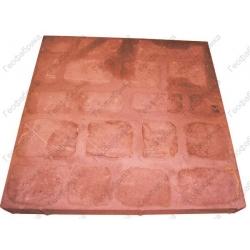 Тротуарная плитка Квадратиш-50 красная