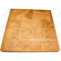 Тротуарная плитка Квадратиш-50 песчаная (на поддоне 52шт)