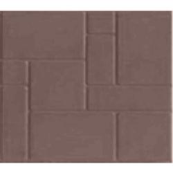 Тротуарная плитка из полимер-песчаного композита - коричневая