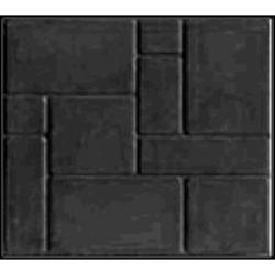 Тротуарная плитка из полимер-песчаного композита - черная (в 1м2 - 9шт)