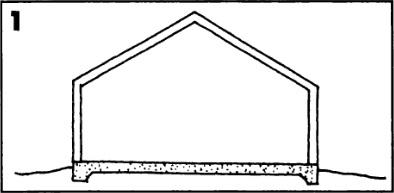 Бетонная плита на грунтовом основании